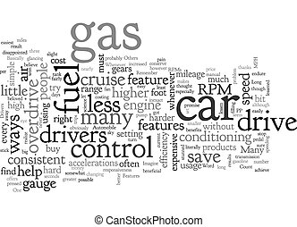 Automobile Features That Can Save Fuel text background ...