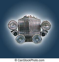 automobile, griglia