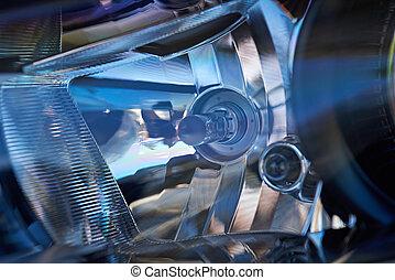 Automobile headlight lamp