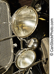 Automobile headlight