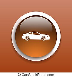 automobile icon car vector vehicle automotive