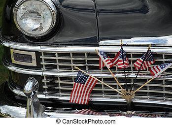 automobile., klassisk