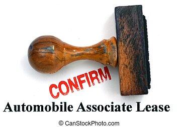 Automobile lease