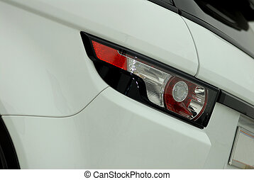 automobile, luce posteriore