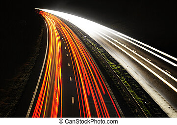 automobile, luci