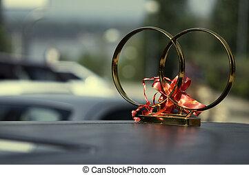 automobile, matrimonio