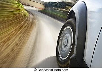 automobile, movimento