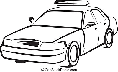 automobile, polizia