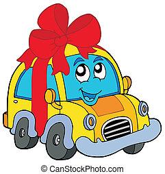 automobile, regalo