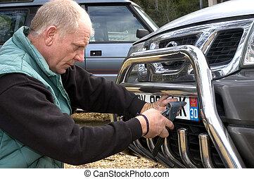 automobile registration