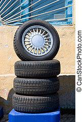 automobile, ruote
