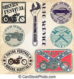 automobile, s, ensemble, timbres