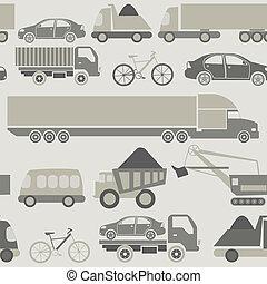 automobile, seamless, servizio