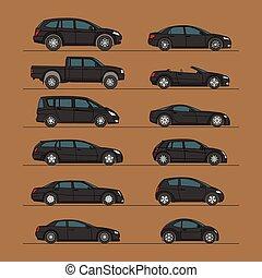 automobile, set