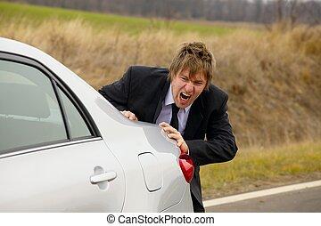 automobile, spinta
