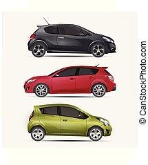 automobile, trasporto, veicolo