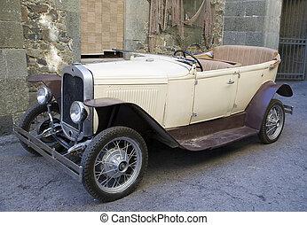automobile, vecchio adattato