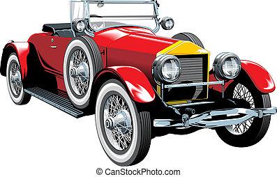 automobile, vecchio