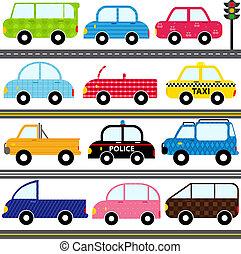 automobile, /, veicoli, /, trasporto