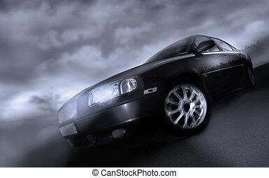 automobilen, flytte