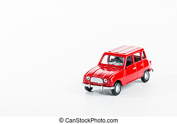 automobilen, isoleret