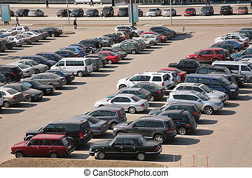 automobiles, stationnement