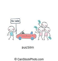 automobiles, vente