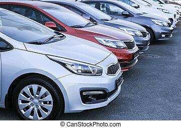 automobili, fila, vendita, lotto, casato