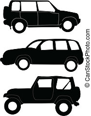 automobili, illustrazione