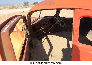 automobili, scarto, namibia
