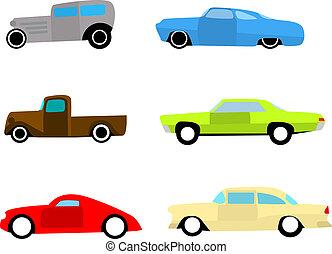 automobili, set caldo, verga