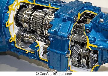 automobilistisk, transmission
