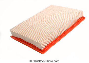 Automotive car filter isolated