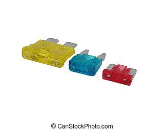 Automotive Car Fuses - A collection of automotive car fuses ...