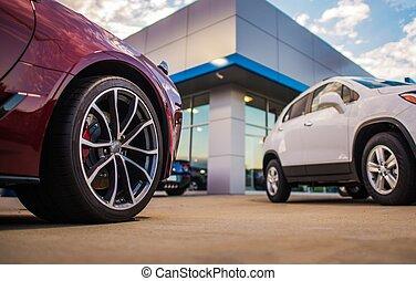 Automotive Dealership Store