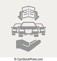 Automotive document icon