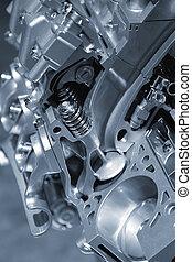 Automotive engine - Sectional view of automotive engine