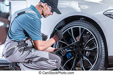 Modern Car Servicing