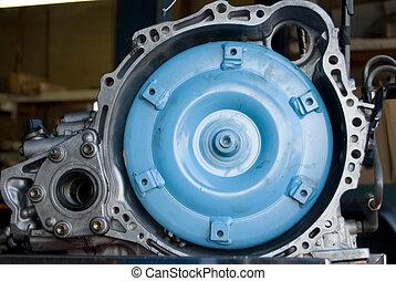 automotive part - close up of a clutch part for a car