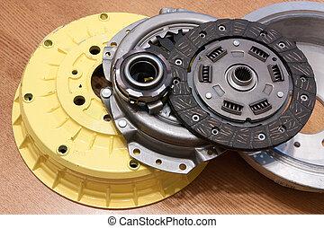 automotive parts. brake wheel and automobile clutch