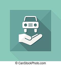 Automotive services - Minimal icon