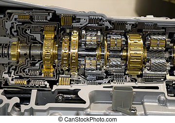 Automotive Transmission - Automotive transmission gearbox...