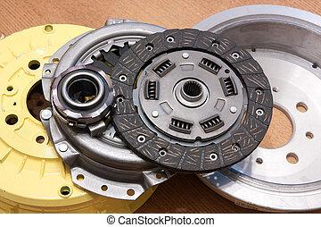 automotor, partes
