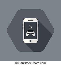 automotor, suscribir, contrato, en línea