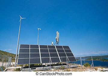 autonomous base station antennas of cellular communication