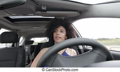 Autonomous car drive