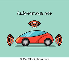 autonomous car wireless sensor signal future technology