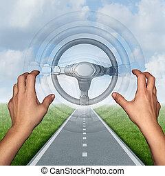 Autonomous Driving Concept - Autonomous driving concept and...