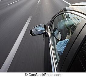 autoroute, conduire