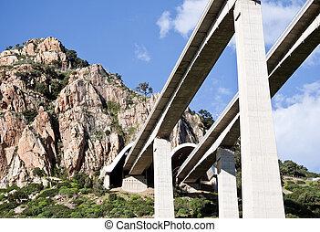 autoroute, ponts